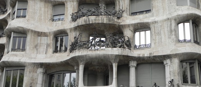 Casa Mila (Architect:  Gaudi)