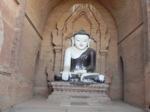 Buddha Image at Phya That Gyi Pagoda