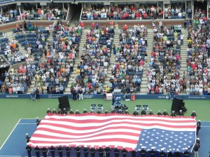USOpen Women's Final Opening Ceremony