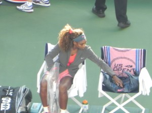 Serena has arrived