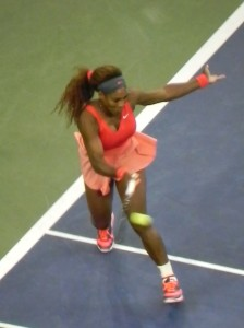 Serena returning with ease