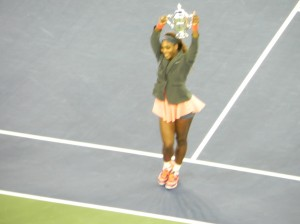 17th Grand Slam Title now under her belt