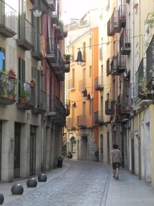 My 'hood in Girona