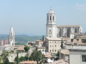 View from Girona City Wall