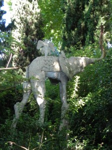 Elephant Sculpture - Garden of Pubol Castle