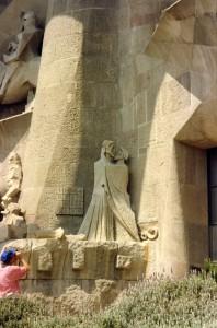 Passion  Façade, La Sagrada Familia, 1992
