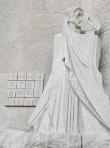 La Sagrada Familia, Passion Façade, Kiss of Judas