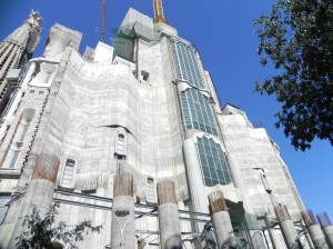 La Sagrada Familia, Glory Façade (not yet complete)