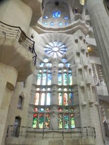 La Sagrada Familia, Stained Glass Windows