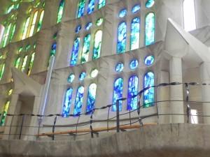 La Sagrada Familia, Choir Bench