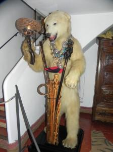 Bear Lobby - Dali's House - Portlligat