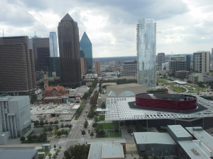View of Dallas Arts Center