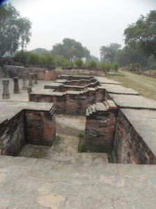 Monk's Quarters, Archaeological Findings, Sarnath
