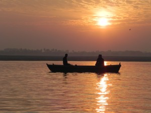 Sunrise over Ganges River, Varanasi