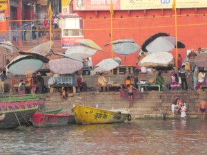 Umbrella Merchants, Varanasi