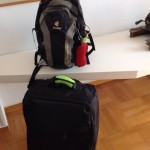 New suitcase/smaller backpack