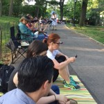 Sitting in Line:  Shakespeare in the Park