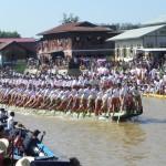 Leg Rower Boat Races, Inle Lake Festival, Myanmar